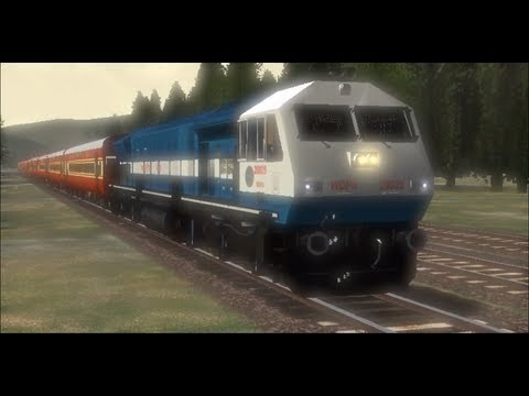 Xxx Mp4 Indian Railways WDP4 20025 KJM Krishnarajapuram Rajdhani In Microsoft Train Simulator 3gp Sex