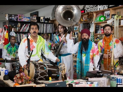 Red Baraat NPR Music Tiny Desk Concert