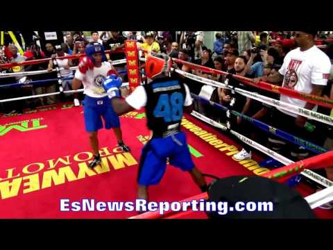 Can You Compare Floyd Mayweather Sparring vs Conor McGregor Sparring ESNEWS BOXING