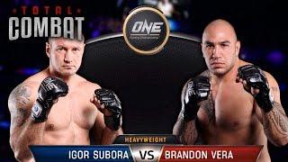 Total Combat   Igor Subora vs Brandon Vera