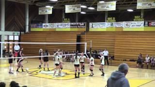 Mira Bear'Mom Coaching Girl Volley Ball Game