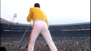 Queen - One Vision (Live at Wembley)