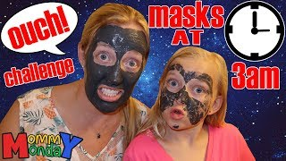 Girls Night Out Gone Wrong! Face Mask Burns My Face on Road Trip!! || Mommy Monday 3 AM Challenge