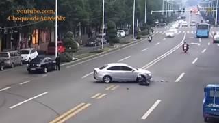 Choques de motos en vivo