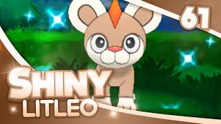 Pokemon [XY] Shiny Hunting - #61 - PokeRadar Chain of 40 SHINY LITLEO!