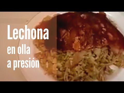 LECHONA TOLIMENSE CASERA EN OLLA A PRESION RECETAS FACILES LECHONA TOLIMENSE CASERA
