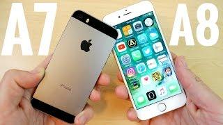 iPhone 5S vs iPhone 6 iOS 10.2.1
