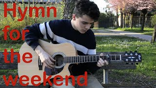 Coldplay - Hymn for the weekend - fingerstyle cover - Ruben Sarri