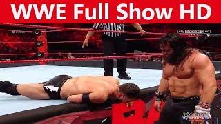 WWE Raw Monday Night July 2017 Full Show HD - WWE Raw 7/18/2017 Full Show This Week