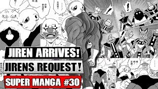JIREN'S SECRET WISH?! Jiren Accepts The Tournament! Dragon Ball Super Manga Chapter 30 Spoilers