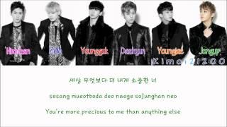 BAP - Happy Birthday HangulRomanizationEnglish Color amp Picture Coded HD