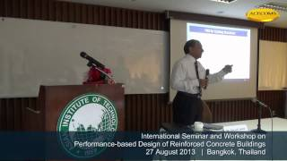 Overview Of Performance-based Design By Dr. Naveed Anwar 1/3