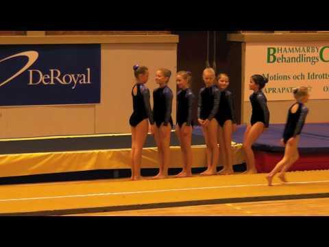 Tyresö Gymnastik Mini-UT Final GULD!!!!!!!