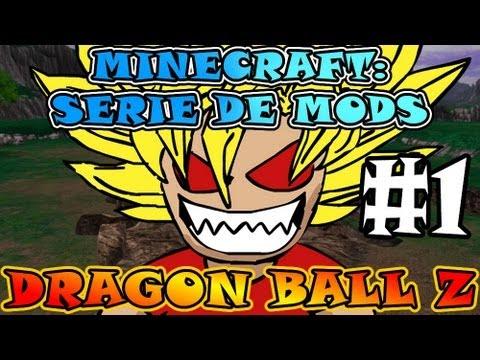 Minecraft DRAGON BALL Z Serie de MODS Ep. 1 ¡SOY GOKÚ D