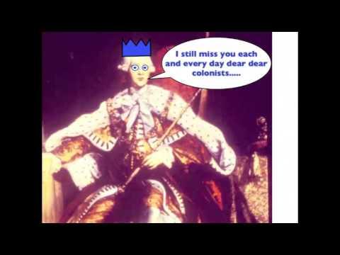 Viva la Vida Parody-King George III song