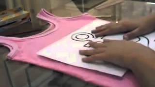 ArtTeen - Como fazer uma camiseta de âncora