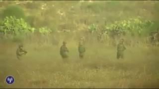 لحظة اشتباك المقاومة مع الجيش الاسرائيلي في ايرز والتي قتل فيها 4 جنود اسرائيليين