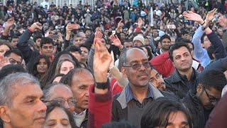 Diwali in London Trafalgar Square 2016 - लंदन में दीवाली   Part 6/8