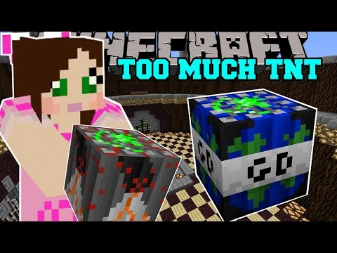 Minecraft WORLD ENDING TNT GLOBAL DISASTER TNT Mod Showcase