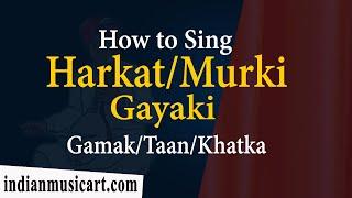 How+to+sing+Harkat+Murki+Meend+Khatka+Gamak+Aakar+Taan+in+Singing