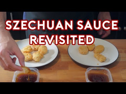 Binging with Babish Szechuan Sauce Revisited From Real Sample