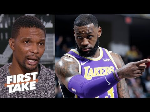 We re in uncharted territories if LeBron misses the playoffs Chris Bosh First Take