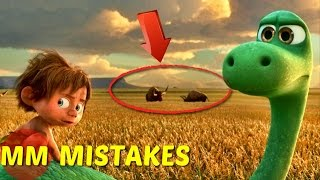 8 Hidden MISTAKES You Missed In The Good Dinosaur | The Good Dinosaur MISTAKES