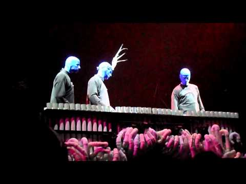 Blue Man Group Pipe Medley with Crazy Train & Lady Gaga