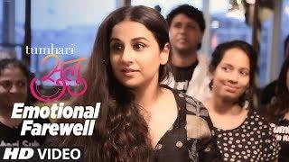 Emotional Farewell: Tumhari Sulu Shoot Wrap | Vidya Balan & Team | T-Series