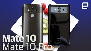 Huawei Mate 10 and Mate 10 Pro hands-on