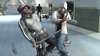 Assassin's Creed 3 Desmond Miles Combat & Stadium Exploration
