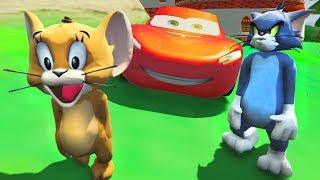 Tom ve Jerry Şimşek Mcqueen ile Örümcek Adam