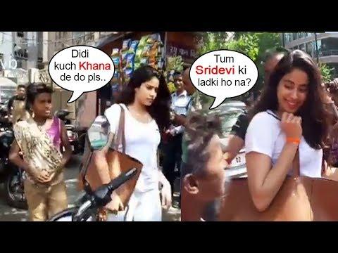 Xxx Mp4 Beggar Asks For Food From Sridevi S Daughter Jhanvi Kapoor What Happens Next Will Melt Ur Heart 3gp Sex