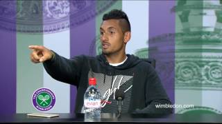 Nick Kyrgios has a go at reporter | Triple M