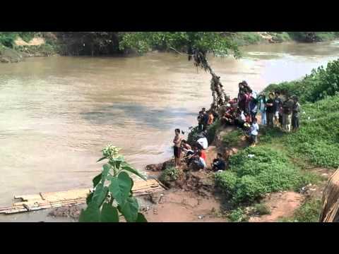 Korban tenggelam di sungai cisadane tangerang