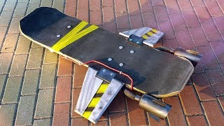 HOW TO MAKE HOVERBOARD FROM FORTNITE DIY