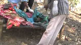 Post Mortem of Tribal girls in Singaranm Chhattisgarh raped and killed by police.