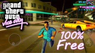 How to dowbload Gta vice city lite version game for android  highly compressed