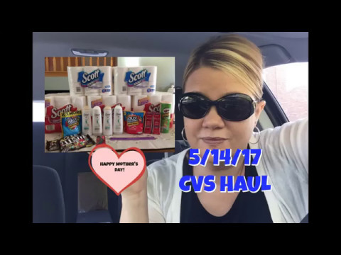 5/14/17 My CVS Haul......$1.99 Packs of Paper Products & more!
