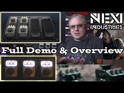 NEXI Pedalboard - FULL DEMO & OVERVIEW