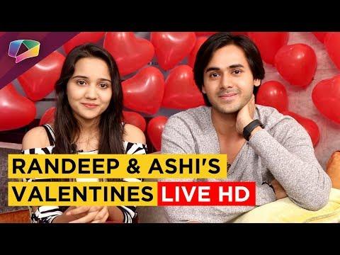Xxx Mp4 Randeep Rai Ashi Singh Aka Sameer Naina Get Candid On Valentines Day Live HD 3gp Sex