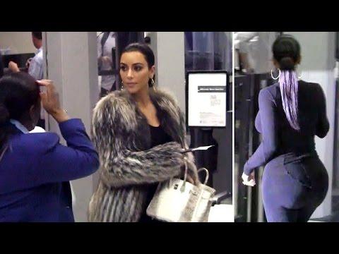 Xxx Mp4 Kim Kardashian S Big Butt Is Cleared For Takeoff At LAX 3gp Sex