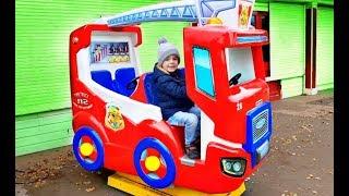 Wheels on the Bus Song Alex Ride on Bus Nursery Rhyme