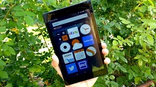 Amazon Fire HD 8 Full Review (2016)