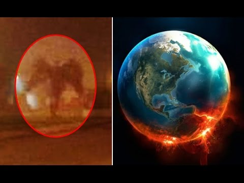 Giant Winged Demon Caught On Camera End Of The World 2017