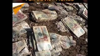 Russia: Tons Of Money Discovered In Abandoned Rocket Shafts