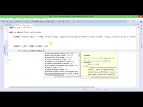 Java Download File From Internet Part 1