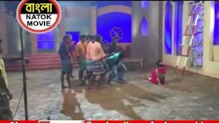 Incident at Movie Shooting of RATRIR JATRI   শুটিংয়ে আহত নায়িকা