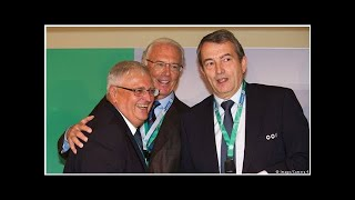 Zwanziger, Schmidt and Niersbach charged over World Cup tax evasion