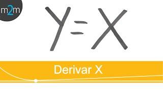 Derivar funciones│variable X